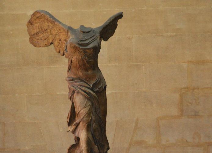 Headless Angel, The Louvre