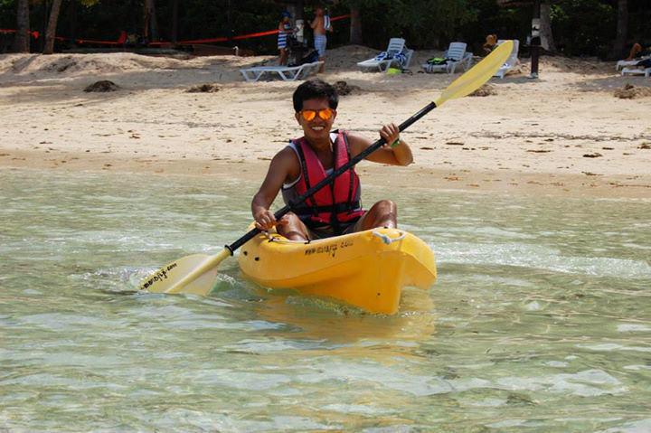 Kayaking in Nadi, Fiji