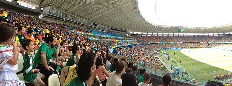 Football Stadium in Brazil