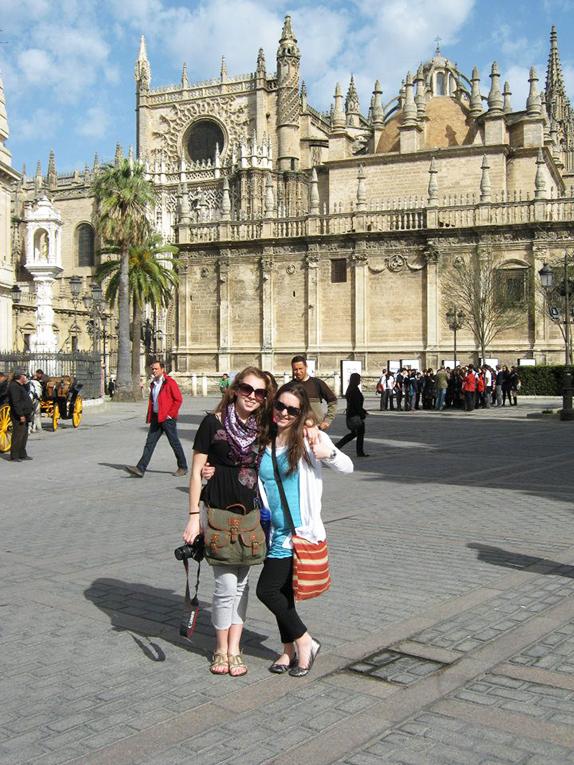 Plaza in Spain