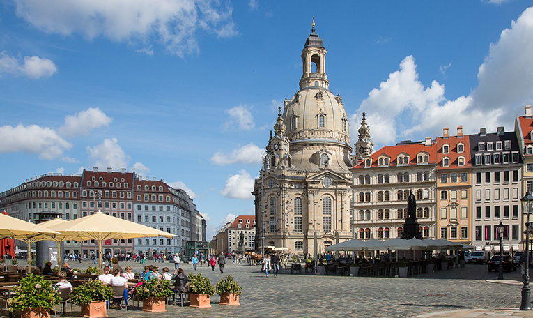 Dresden Frauenkirche Church Germany