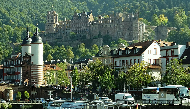 Heidelberg Castle Neckar Germany
