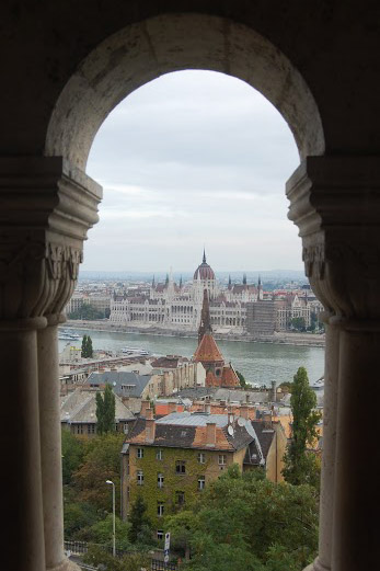 The Hungarian Parliament Building.