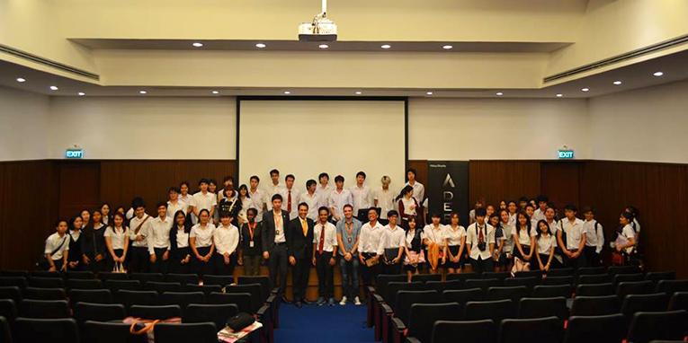 Participants of a training workshop at Assumption University
