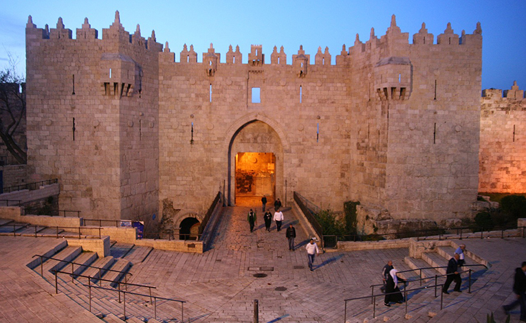 Entrance to Damascus Gate