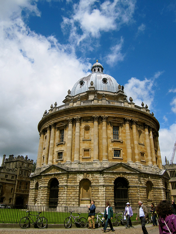 The Radcliffe Camera in Oxford, England