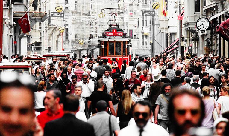 Downtown of Turkey