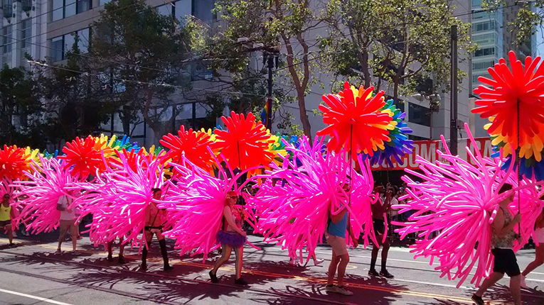 Gay Parade in San Francisco
