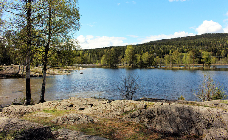 Sognsvann, Oslo, Norway
