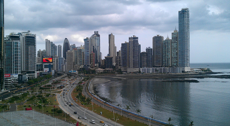 Cityscape of Panama