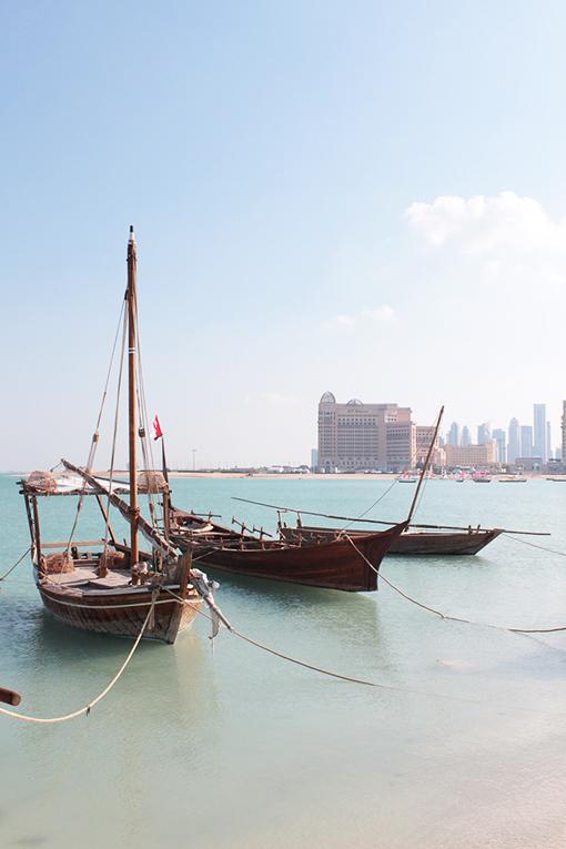 Boat in Qatar