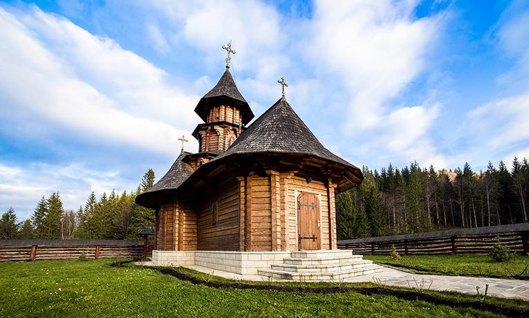 Sihastria Putnei Monastery, Romania