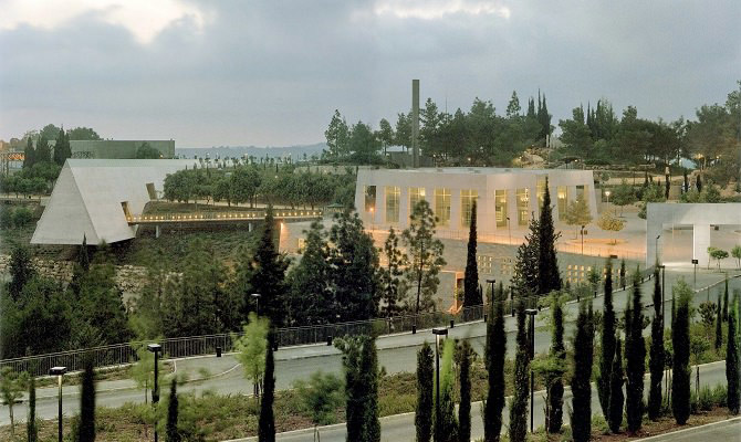 Yad Vashem Holocaust Memorial in Jerusalem, Israel