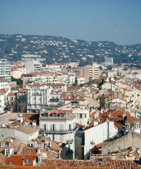 A view of Cannes, France
