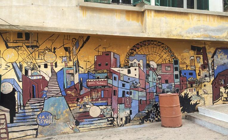 Street art in Beirut, Lebanon