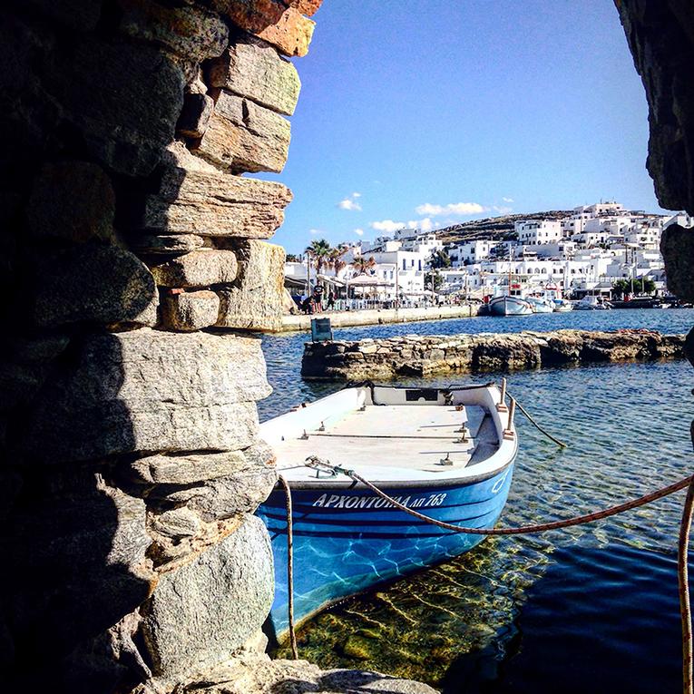 Paros Island Harbor