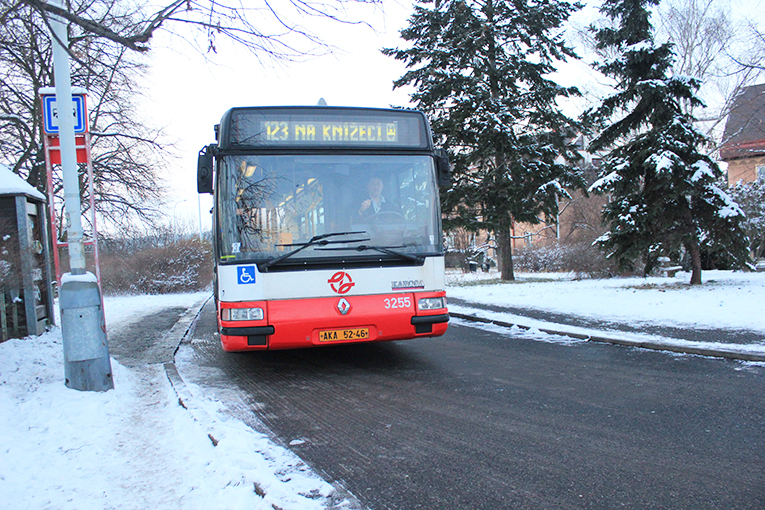 Bus in Prague