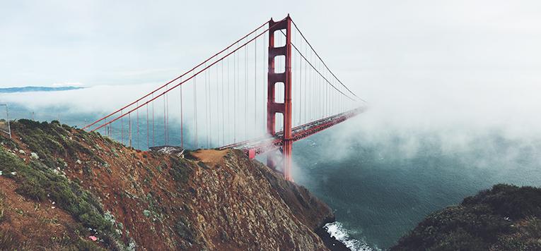 The Golden Gate Bridge, San Franciso USA