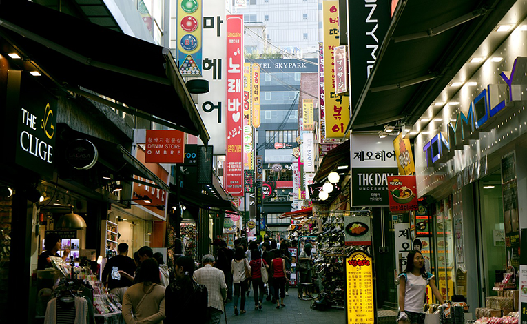 Namdaemun Market, South Korea