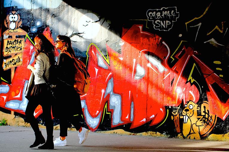Street Graffiti in Slovenia