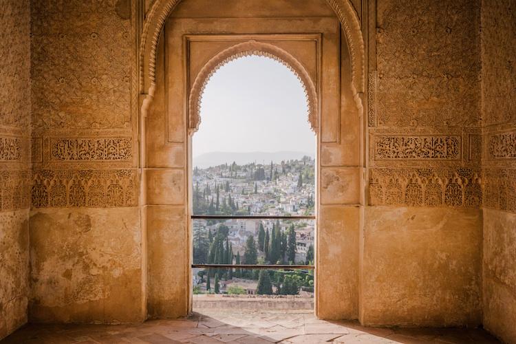 Moorish window in southern Spain