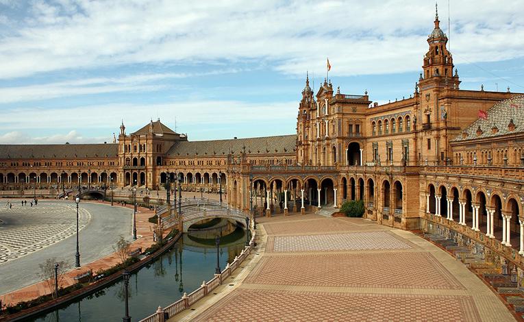 Plaza De España Seville Spain