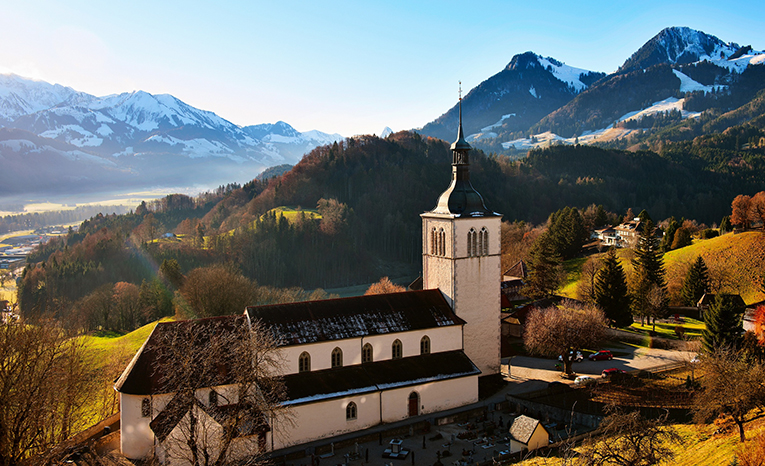 Snow Mountain, Switzerland