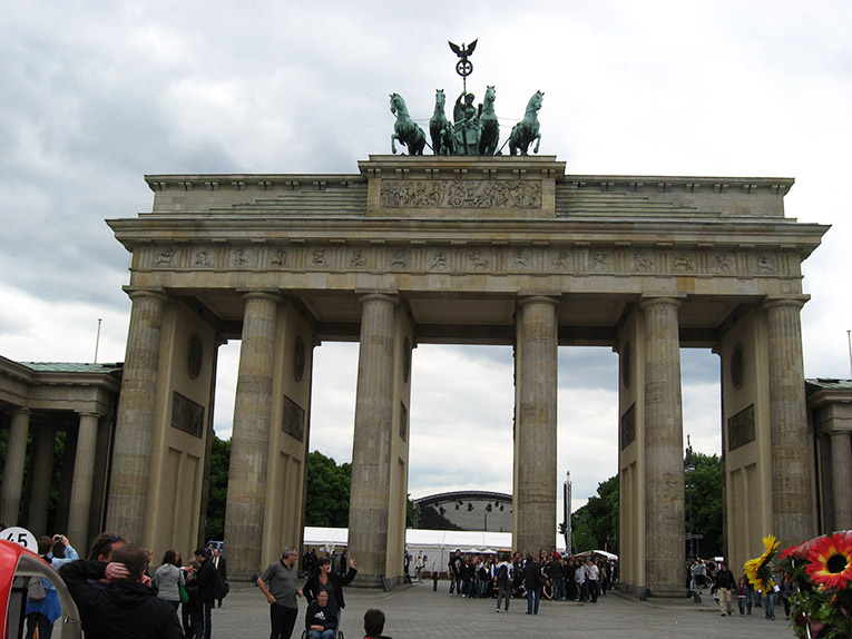 The Brandenburg Gate, Berlin Germany