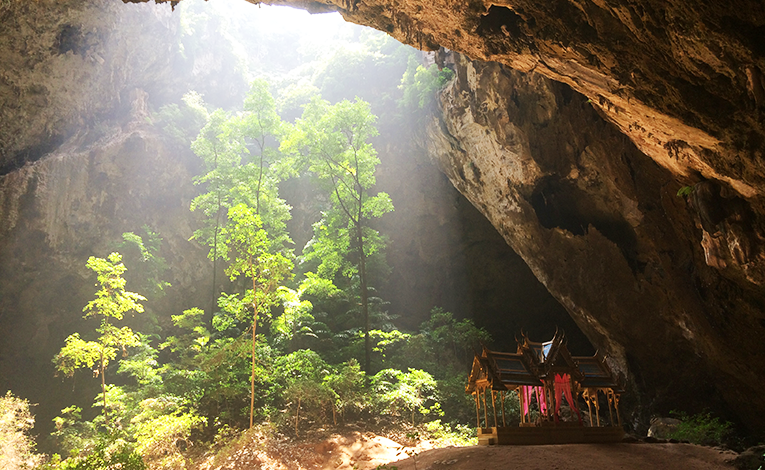 Phraya Nakhon cave in Khao Sam Roi Yot National Park