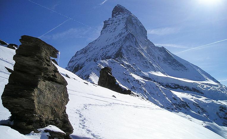 Zermatt, in southern Switzerland