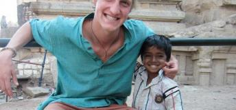 Working with the Precious Children of India.