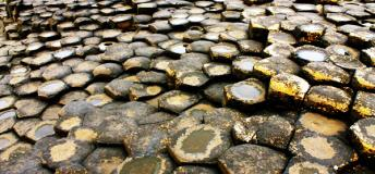 Feel tiny at Giant's Causeway located in the neighboring country of Norther Ireland.