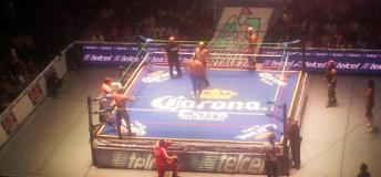Lucha Libre, an entertaining and fun way to spend your Friday night in Mexico City.