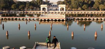 One of Pakistan's lovely sites –Shalimar Gardens, Lahore