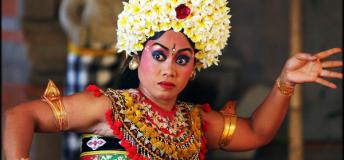 Traditional Legong Dancer, Bali, Indonesia