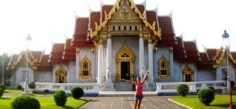 The Marble Temple of Bangkok.