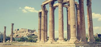 A historic tourist attraction in Greece