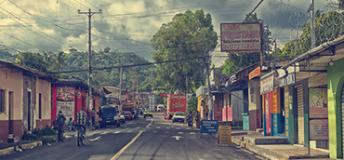 El Salvador Street