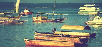 Boats in Tanzania