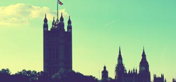 A View of London, England