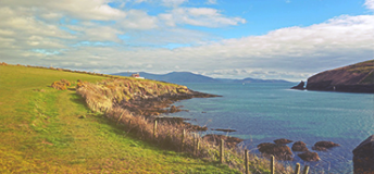 Coastal view in Ireland