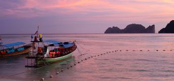 Ko Phi Phi Don, Thailand at sunset