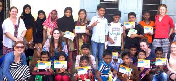 Gap Year Volunteers in India