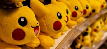 Pikachu stuffed animals