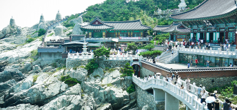 Haedong Yonggung Temple in Busan, South Korea
