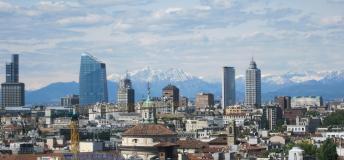 Milan's city skyline