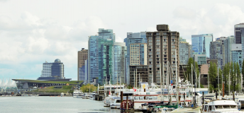 Port in Vancouver, Canada