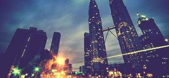 Kuala Lumpur, the Petronas Twin Towers