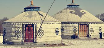 Mongolian Huts