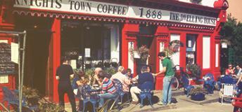 The Knightstown Coffee shop in Ireland.